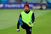 James Hildreth of Somerset warming up before the Specsavers County Champ Div 1 match between Somerset County Cricket Club and Lancashire County Cricket Club at the Cooper Associates County Ground, Taunton, United Kingdom on 14 September 2017. Photo by Graham Hunt.