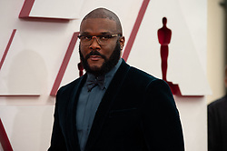 Gene Hersholt Award winner, Tyler Perry arrives on the red carpet of The 93rd Oscars® at Union Station in Los Angeles, CA, USA on Sunday, April 25, 2021. Photo by A.M.P.A.S. via ABACAPRESS.COM on Sunday, April 25, 2021.
