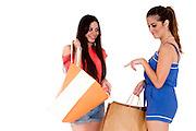 Happy Teen Shoppers
