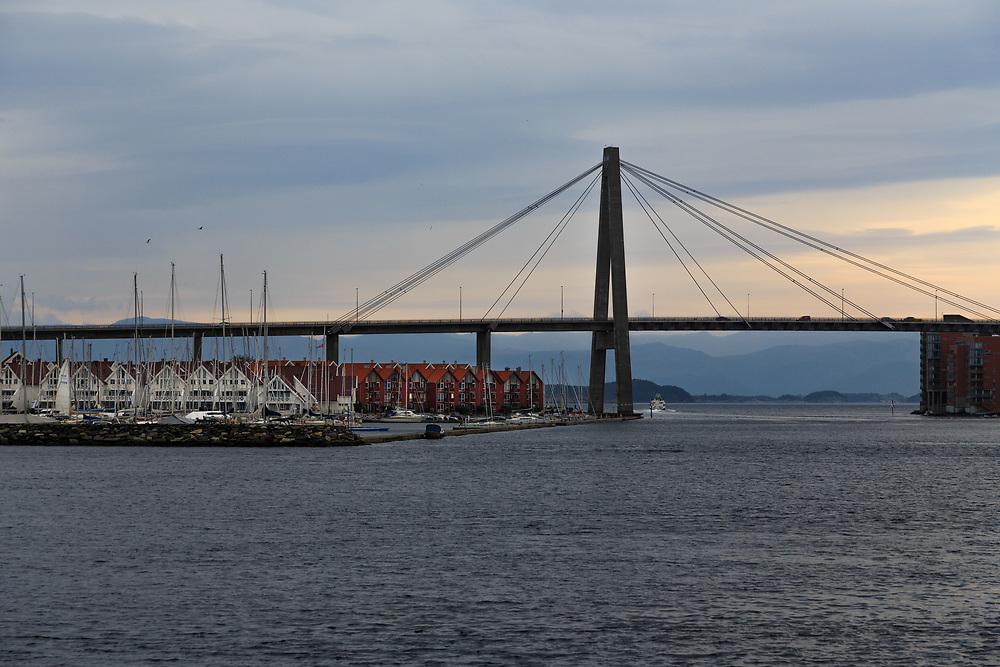Stavanger City Bridge in Norway.
