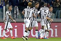 Esultanza Fernando Llorente Juventus gol 1-1, goal celebration,<br /> Torino 05-03-2015, Juventus Stadium, Football Calcio 2014/2015 Coppa Italia, semifinale, Juventus - Fiorentina, Foto Filippo Alfero/Insidefoto