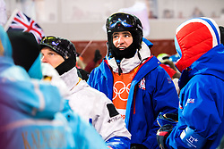 February 12, 2018 - Pyeongchang, SOUTH KOREA - 180212  Vinjar SlÅ'tten of Norway after the menÃ•s moguls final during day three of the 2018 Winter Olympics on February 12, 2018 in Pyeongchang..Photo: Carl Sandin / BILDBYRN / kod CS / 57999_286 (Credit Image: © Carl Sandin/Bildbyran via ZUMA Press)