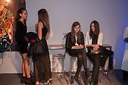 ANA MARQUES; BEATRICE SANTANA; JOANNA KOLTUNIAK; ALINA ZANELLA, The Vogue Festival 2012 in association with Vertu- cocktail party. Royal Geographical Society. Kensington Gore. London. SW7. 20 April 2012.