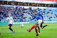 Fotball , Tippeligaen , Eliteserien<br /> 23.04.17 , 20170423<br /> Vålerenga - Sogndal <br /> Jonatan Tollås Nation scorer sitt mål til 1-0<br /> Foto: Sjur Stølen / Digitalsport