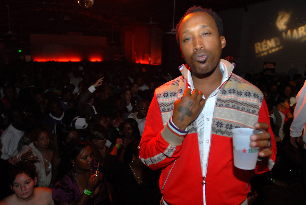 Remy Martin sponsors Too $hort in store and live performance in Oakland, California...Hasain Rasheed Photography.