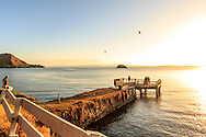 the never not fished on pier, whangarei heads