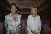 Penny Marks and Princess Marie-Chantal of Greece, Private Preview of the Grosvenor House Art and Antiques Fair. 13 June 2007.  -DO NOT ARCHIVE-© Copyright Photograph by Dafydd Jones. 248 Clapham Rd. London SW9 0PZ. Tel 0207 820 0771. www.dafjones.com.