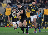 Rugby Union - 2019 Rugby Championship - New Zealand vs. South Africa<br /> <br /> Beauden Barrett of NZ, at Westpac Stadium, Wellington.<br /> <br /> COLORSPORT/ANDREW COWIE