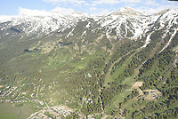 Aerial of Jackson Hole Mountain Resort