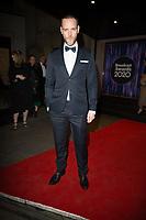 Joe Absolom at the Broadcast Awards, Grosvenor Hotel London. 05.02.20