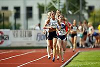 Friidrett, 06. august 2004, NM senior, Det norske hovedmesterskapet,  Kari-Anne Myhre (369), Verdal,  Brit-Helen Simmenes, Osterøy (378)