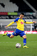 Southampton midfielder Mohamed Elyounoussi during the The FA Cup 3rd round match between Derby County and Southampton at the Pride Park, Derby, England on 5 January 2019.