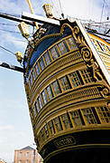 HMS Victory, Portsmouth, Hampshire, England photographed in 1962