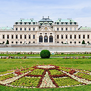 The Belvedere palace in Vienna, Austria, built for Prince Eugene of Savoy.