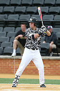 21 May 2016: Wake Forest's Gavin Sheets. The Wake Forest University Demon Deacons played the University of Louisville Cardinals in an NCAA Division I Men's baseball game at David F. Couch Ballpark in Winston-Salem, North Carolina. Louisville won the game 9-4.