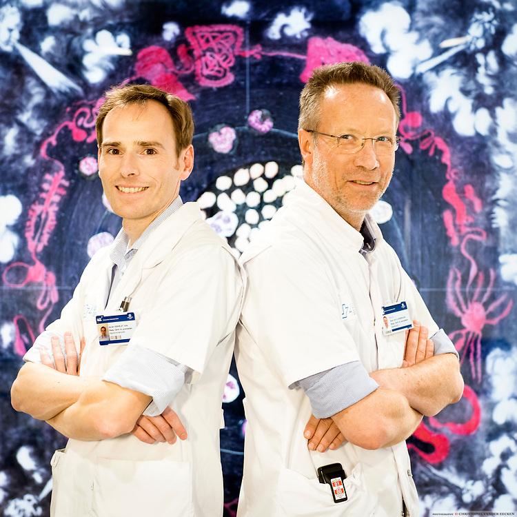 prof Hans Van Vlierberghe, dr. Xavier Verhelst