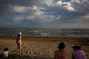 The beach in Durres