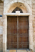 Israel, renovated old city of Jaffa The first Jewish Hostel from 1740 From 1948 the building is in use as a synagogue for Libyan Jews