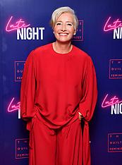 Late Night Premiere - London - 20 May 2019