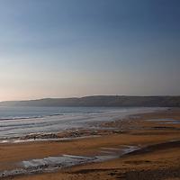 Europe, United Kingdom, Wales, Pembrokeshire, Freshwater West Beach.