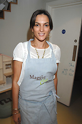 MAGGIE BOLGER at a party to celebrate the 21st birthday of the children's charity Starlight held at Maggie & Rose, 58 Pembroke Road, London W8 on 12th May 2008.<br /><br />NON EXCLUSIVE - WORLD RIGHTS