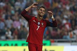 October 10, 2017 - Lisbon, Lisbon, Portugal - Portugal forward Cristiano Ronaldo during the match between Portugal v Switzerland - FIFA 2018 World Cup Qualifier match at Luz Stadium on October 10, 2017 in Lisbon, Portugal. (Credit Image: © Dpi/NurPhoto via ZUMA Press)