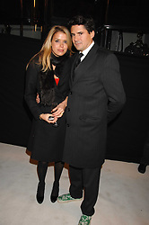 EDWARD TAYLOR and SABINA ROEMER at a party to celebrate the opening of the new Beatrix Ong store in Burlington Arcade, Piccadilly, London on 14th November 2007.<br /><br />NON EXCLUSIVE - WORLD RIGHTS
