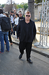 Albert Elbaz attending the funeral ceremony of French designer Sonia Rykiel at the Montparnasse cemetery in Paris, France on September 1, 2016. The 86 years old pioneer of Parisian womenswear from the late 1960's onwards, has died from a Parkinson's disease-related illness. Photo by Alban Wyters/ABACAPRESS.COM
