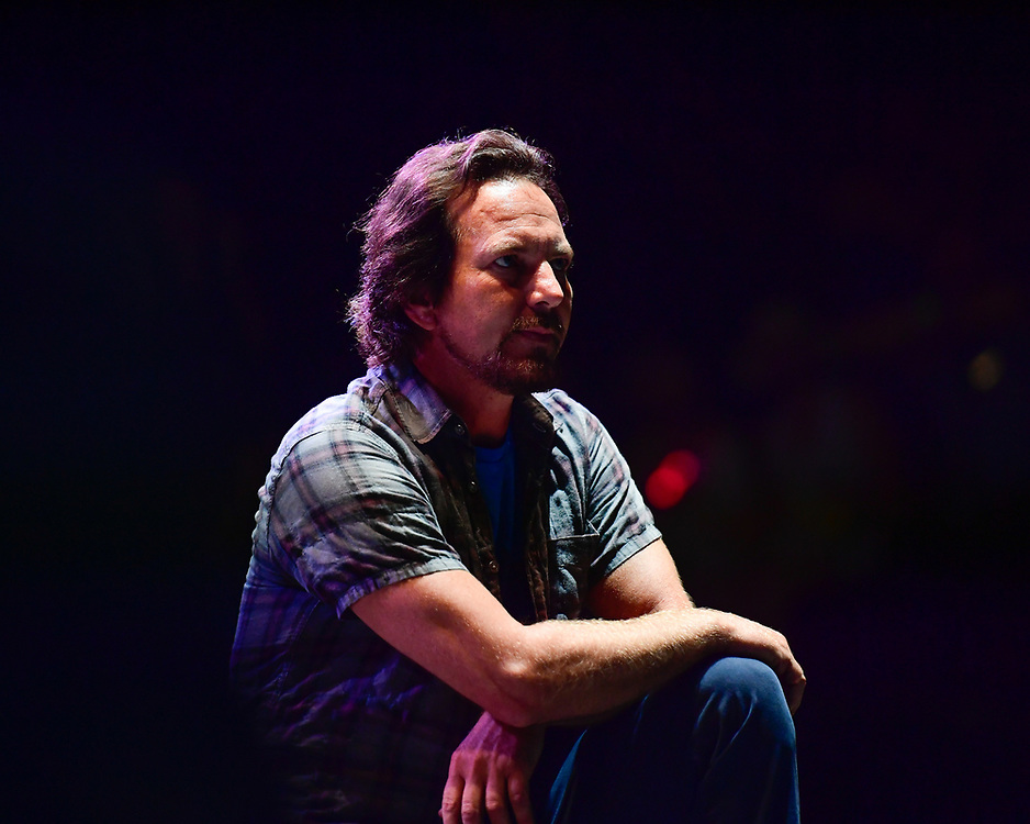 Eddie Vedder performs onstage at the Pilgrimage Music & Cultural Festival - Day 2 on September 25, 2016 in Franklin, Tennessee. (Photo by Mickey Bernal/Getty Images)
