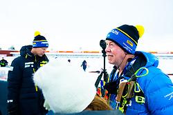March 9, 2019 - –Stersund, Sweden - 190309  Wolfgang Pichler, head coach of Sweden ahead of the Men's 10 KM sprint during the IBU World Championships Biathlon on March 9, 2019 in Östersund..Photo: Petter Arvidson / BILDBYRÃ…N / kod PA / 92252 (Credit Image: © Petter Arvidson/Bildbyran via ZUMA Press)