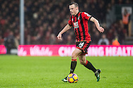 Bournemouth defender Brad Smith (14) during the Premier League match between Bournemouth and Crystal Palace at the Vitality Stadium, Bournemouth, England on 31 January 2017. Photo by Sebastian Frej.