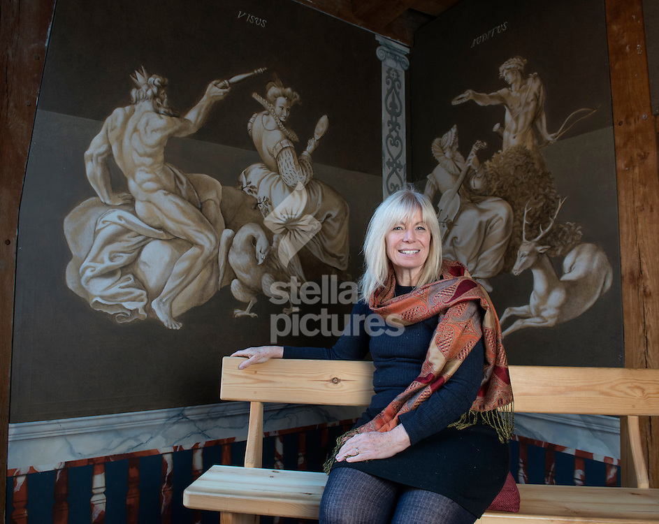 Musical director, director, composer and playwright Claire van Kampen pictured at Shakespeare's Globe, Southwark<br /> Picture by Daniel Hambury/Stella Pictures Ltd +44 7813 022858<br /> 18/02/2015