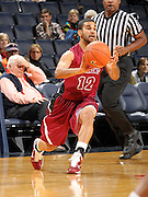 Nov 6, 2010; Charlottesville, VA, USA; Roanoke College g Melvin Felix (12) handles the ball Saturday afternoon in exhibition action at John Paul Jones Arena. The Virginia men's basketball team recorded an 82-50 victory over Roanoke College.