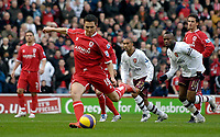 Photo: Jed Wee/Sportsbeat Images.<br /> Middlesbrough v Arsenal. The FA Barclays Premiership. 09/12/2007.<br /> <br /> Middlesbrough's Stewart Downing scores from the penalty spot.