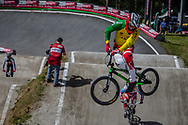 #747 (TURNER Bodi) AUS during round 4 of the 2017 UCI BMX  Supercross World Cup in Zolder, Belgium.