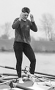 Staines, GREAT BRITAIN,   <br /> Sue WALKER.<br /> British Rowing Women's Heavy Weight Assessment. Thorpe Park. Sunday 21.02.1988,<br /> <br /> [Mandatory Credit, Peter Spurrier / Intersport-images] 19880221 GBR Women's H/Weight Assesment Thorpe Park, Surrey.UK