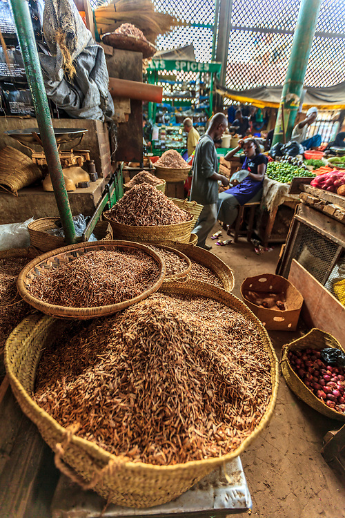 Spices for sale at MacKinnon Market, Old Town, Mombasa