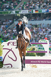Patrice Delaveau (FRA), Zenith SFN - Show Jumping Final Four - Alltech FEI World Equestrian Games™ 2014 - Normandy, France.<br /> © Hippo Foto Team - Jon Stroud<br /> 07/09/2014