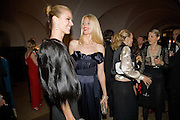 CLAUDIA SCHIFFER; EVA HERZIGOVA, Chaos Point: Vivienne Westwood Gold Label Collection performance art catwalk show and auction in aid of the NSPCC. Banqueting House. London. 18 November 2008<br />