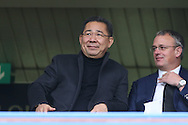 Vichai Srivaddhanaprabha, the Leicester city owner looking on from the stands. Premier league match, Chelsea v Leicester city at Stamford Bridge in London on Saturday 15th October 2016.<br /> pic by John Patrick Fletcher, Andrew Orchard sports photography.