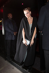 Cara Delevingne arriving at Dior Addict Stellar Shine diner and party at Roxie restaurant during Ready To Wear A/W 2019-2020 as part of Paris Fashion Week on February 26, 2019 in Paris, France. Photo by Nasser Berzane/ABACAPRESS.COM