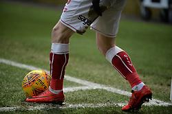A Bristol City players football boots