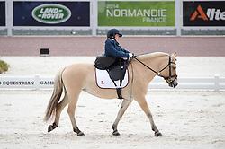 Birgitte Reitan, (NOR), Sno - Team Competition Grade Ia Para Dressage - Alltech FEI World Equestrian Games™ 2014 - Normandy, France.<br /> © Hippo Foto Team - Jon Stroud <br /> 25/06/14