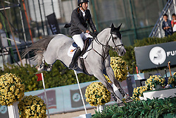 Alvarez Aznar Eduardo, (ESP), Rokfeller de Pleville Bois Margot <br /> First Round<br /> Furusiyya FEI Nations Cup Jumping Final - Barcelona 2015<br /> © Dirk Caremans<br /> 24/09/15