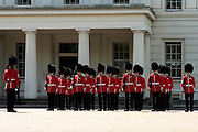 The queen's guard, London
