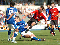 Photo: Tony Oudot.<br /> Millwall v Bristol City. Coca Cola League 1. 28/04/2007.<br /> Alex Russell of Bristol City gets a shot on goal