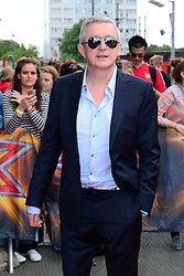 Image ©Licensed to i-Images Picture Agency. 20/06/2014. London, United Kingdom. The X Factor - London auditions photocall.  Louis Walsh arrives for the X Factor auditions at Emirates Stadium. Picture by Nils Jorgensen / i-Images