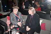 STEPHEN FREARS; CHRISTOPHER HAMPTON, Liberatum Cultural Honour  for John Hurt, CBE in association with artist Svetlana K-Lié.  Spice Market, W London - Leicester Square
