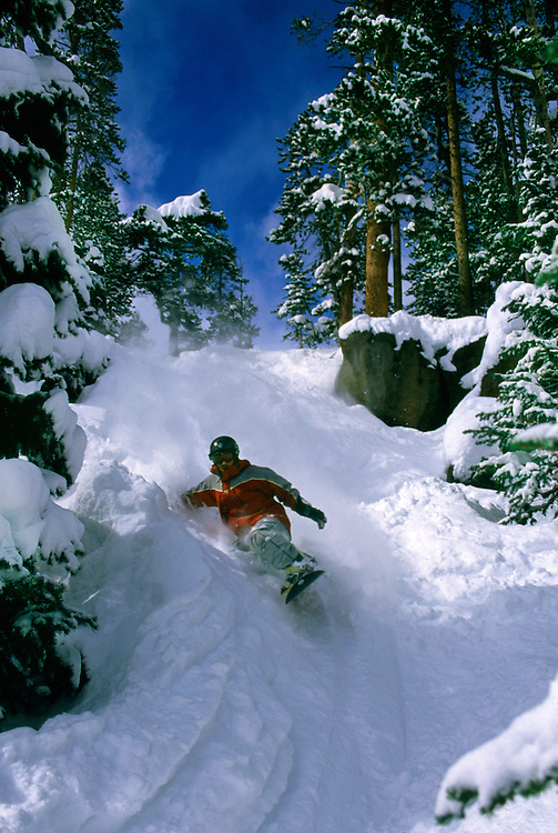 Snowboarder, Mary Jane, Winter Park ski resort, Colorado