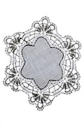 decorative doily made from lace